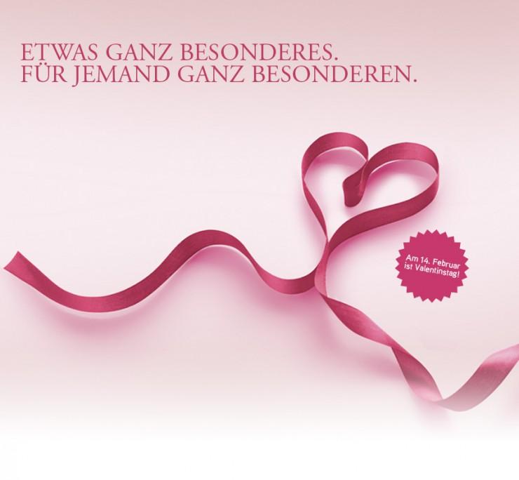 Ewige Liebe zeigen und zum Valentinstag bleibende Werte von Münze Österreich schenken