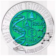MÜNZE ÖSTERREICH AG präsentiert Weltneuheit: zweifärbige Niob-Münze