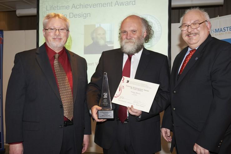 Auszeichnung für Münze Österreich Graveur Herbert Wähner im Rahmen der World Money Fair 2014