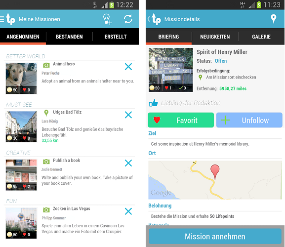 Android App Lifepilot sucht Beta-Tester