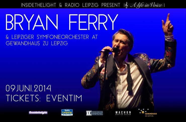 Poplegende Bryan Ferry live mit großer symphonischer Besetzung