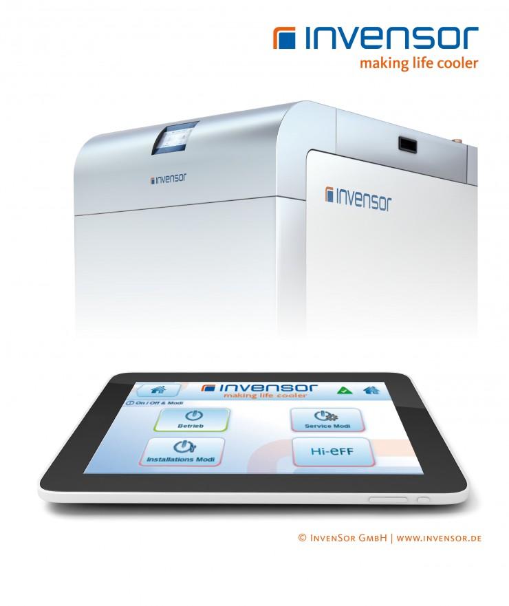 Adsorptionskältemaschinen nun auch über Tablet und iPhone steuerbar